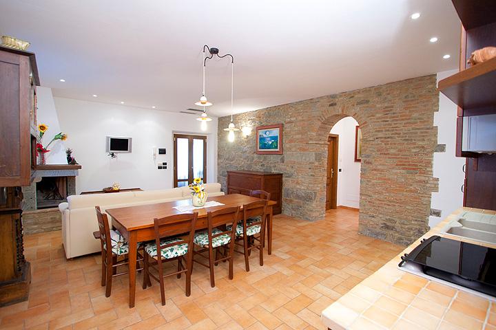 Cucine Stile Toscano. Good Pelago Consuma Paese Splendido Villino In ...